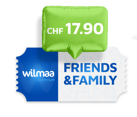 Wilmaa Friends & Family dès CHF 17.90